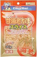 CATTYMAN 蝦銀鱈魚絲 30G
