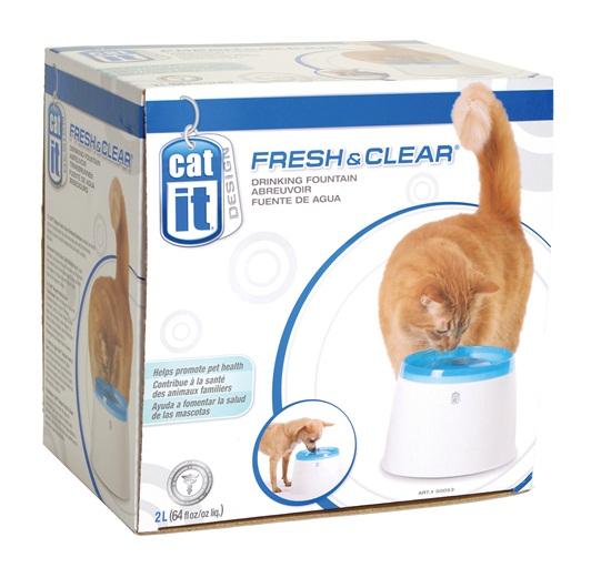 Cat it 貓用瀑布式過濾飲水機 - 2公升