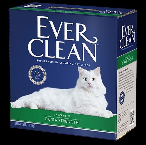 EverClean 藍鑽貓砂 強效低敏結塊貓砂 25LBS