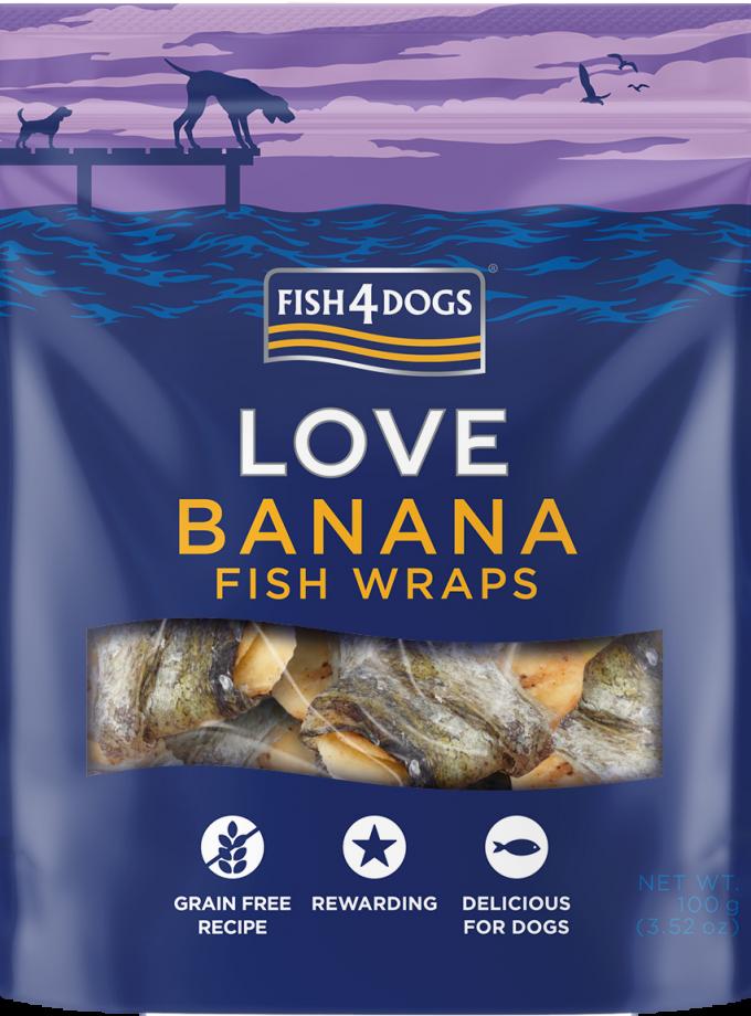 Fish4Dogs love banana