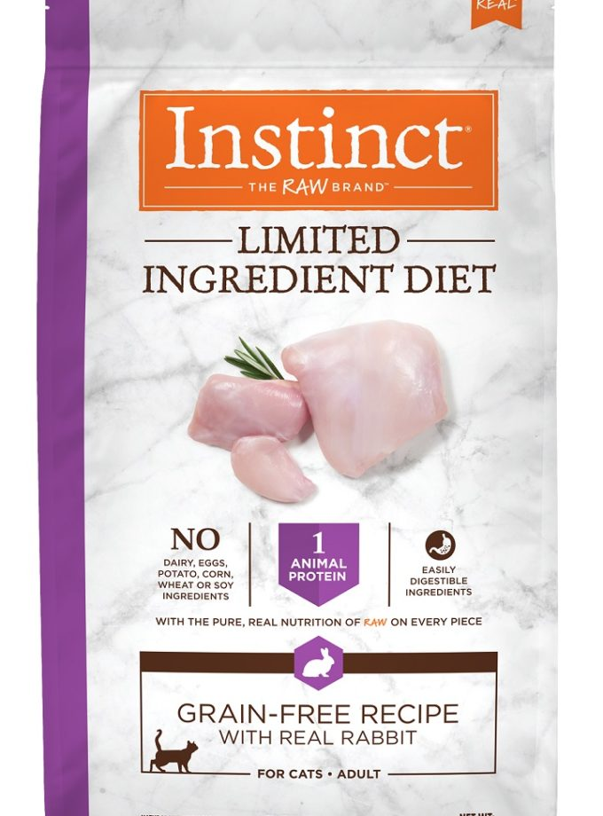 Instinct® Limited Ingredient Diet Grain-Free Recipe with Real Rabbit 4.5LB