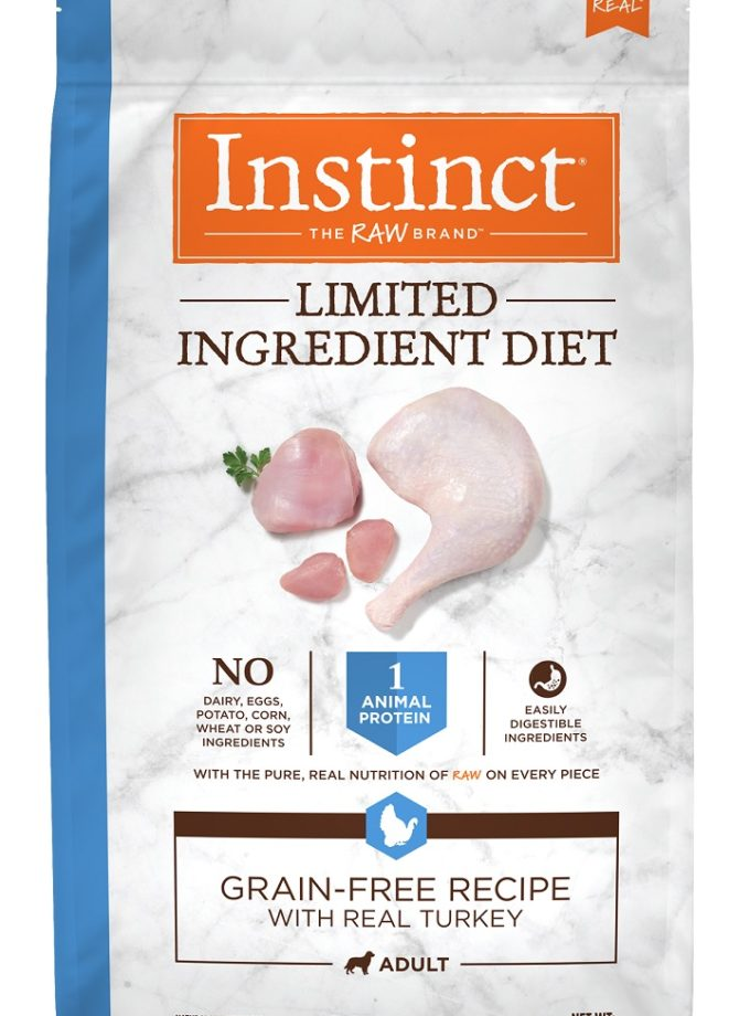 Instinct® Limited Ingredient Diet Grain-Free Recipe with Real Turkey 22LB