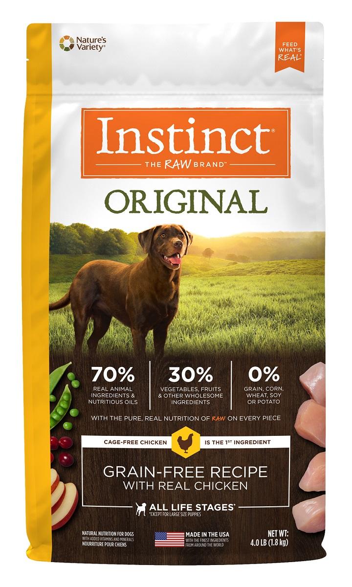 Instinct® Original Grain-Free Recipe with Real Chicken 22.5LB