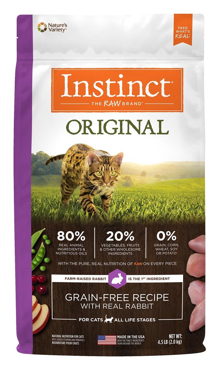 Instinct® Original Grain-Free Recipe with Real Rabbit 4.5LB