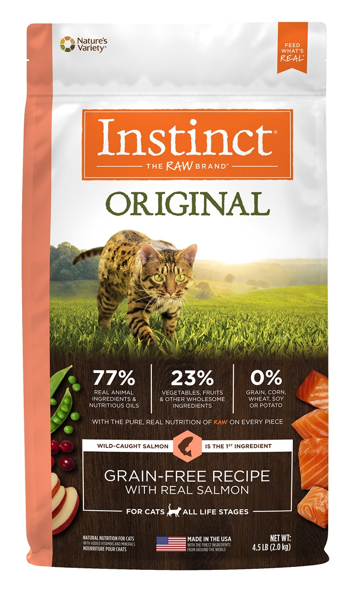 Instinct® Original Grain-Free Recipe with Real Salmon 10LB