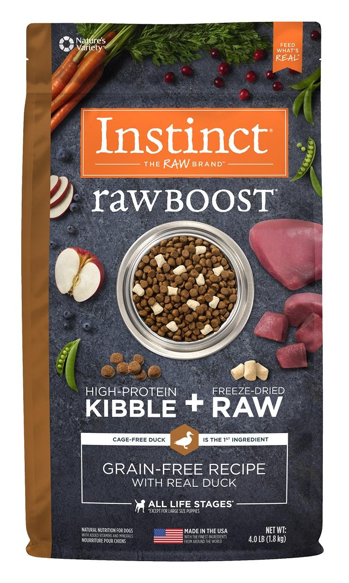 Instinct® Raw Boost® Grain-Free Recipe with Real Duck 4.LB