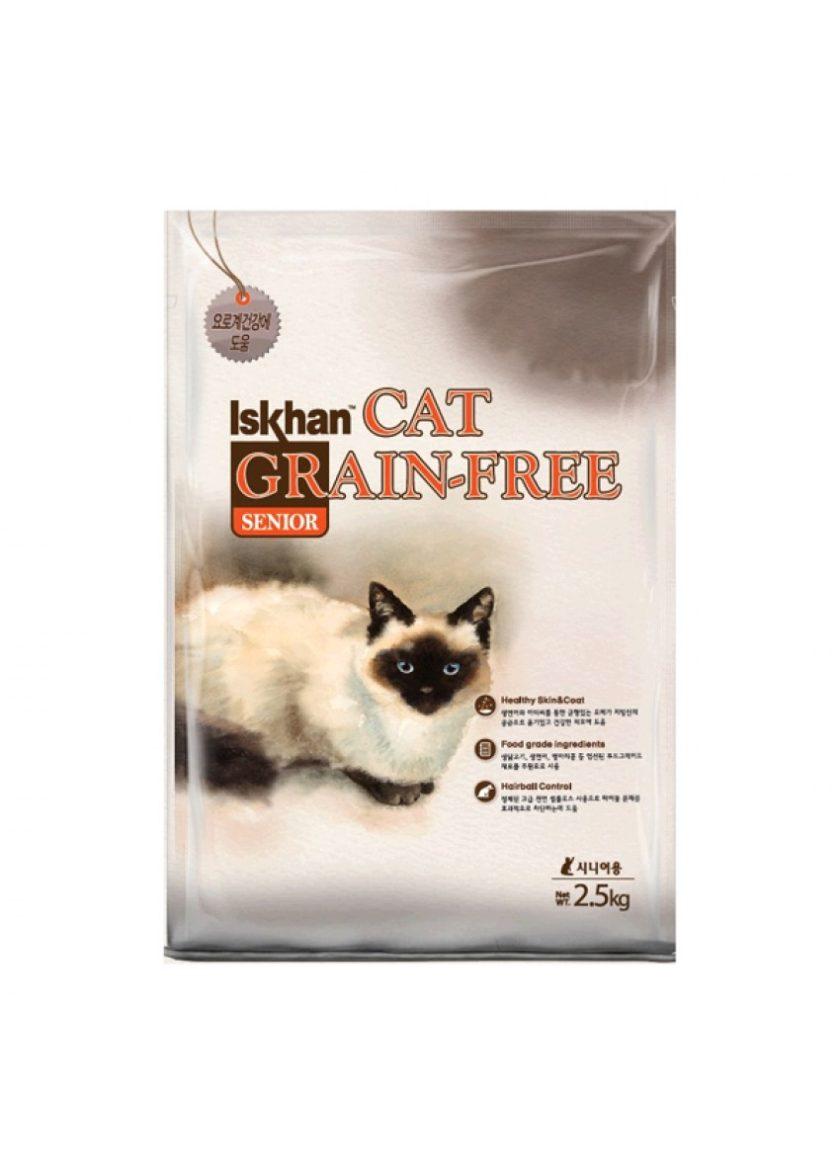 Iskhan 益健無穀物高齡貓配方 2.5KG