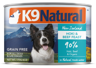 K9 Natural Hoki and Beef Feast