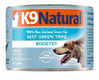 K9 NATURAL 牛綠草胃營養補品狗罐頭 370G