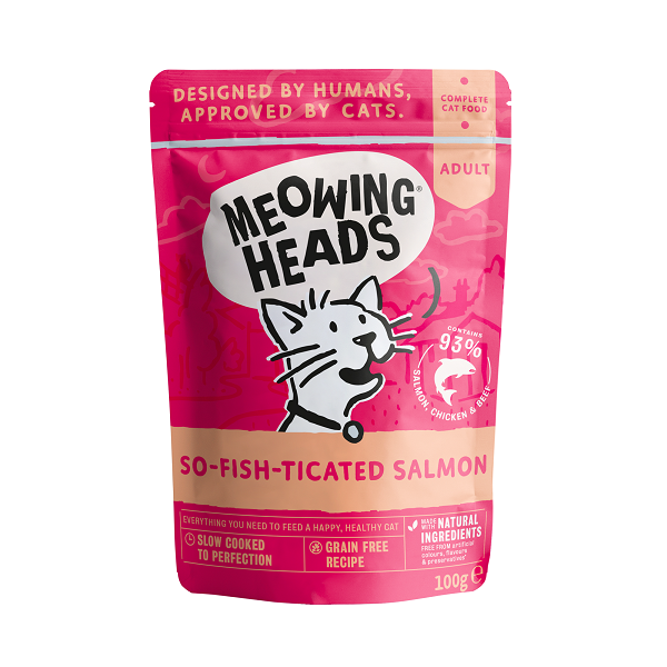 Meowing Heads 成貓配方 So-Fish-Ticated Salmon