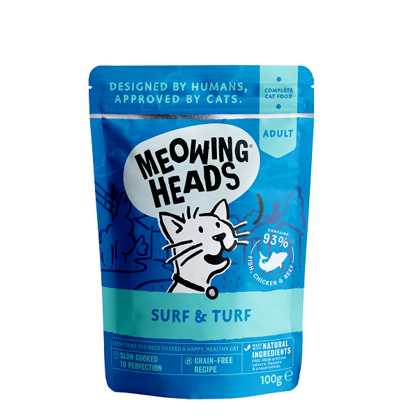 Meowing Heads Surf & Turf