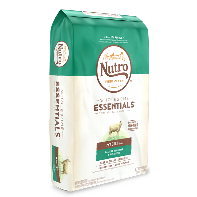 NUTRO NATURAL CHOICE 羊肉及全糙米配方成犬糧 5LB