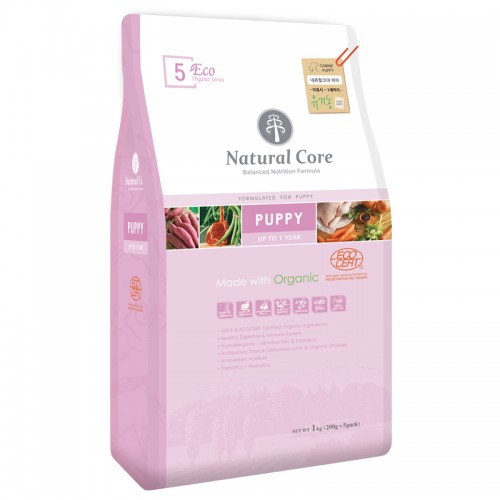 Natural Core ECO5 幼犬羊肉有機糧 7KG