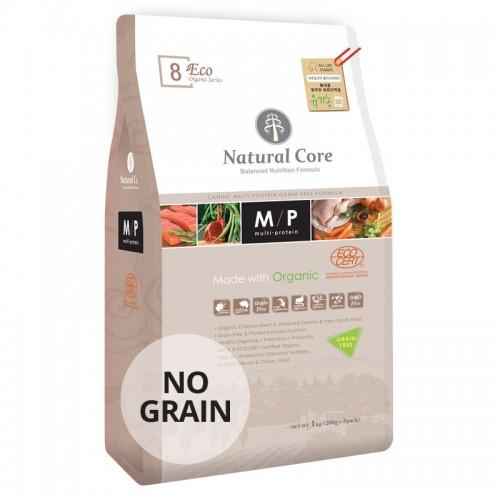 Natural Core ECO8 綜合蛋白無穀物有機糧(全年齡犬) 1KG