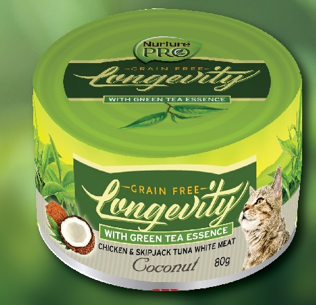 Nurture Pro 雞+鰹魚金槍魚肉 椰子免疫增強主食罐 80G