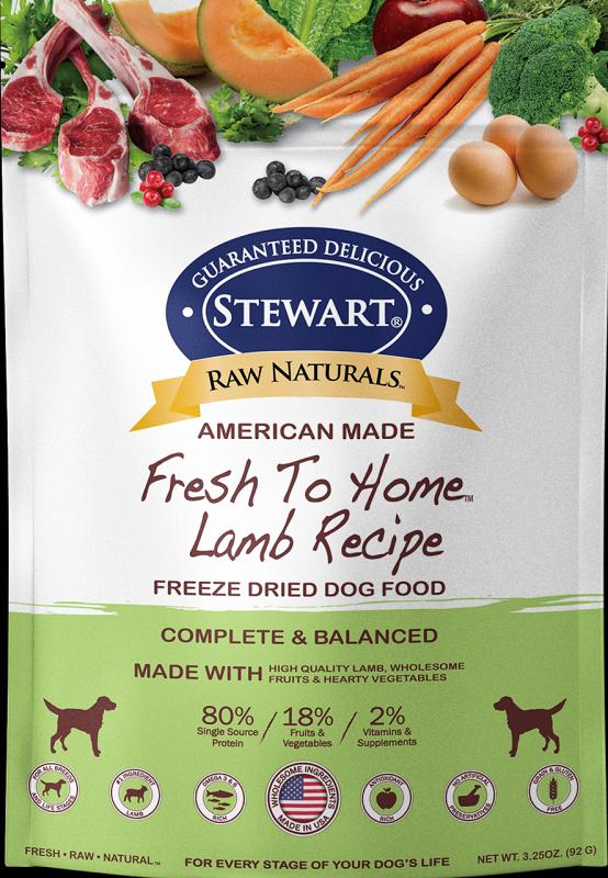 Stewart凍乾生肉全犬糧-羊肉 12 oz