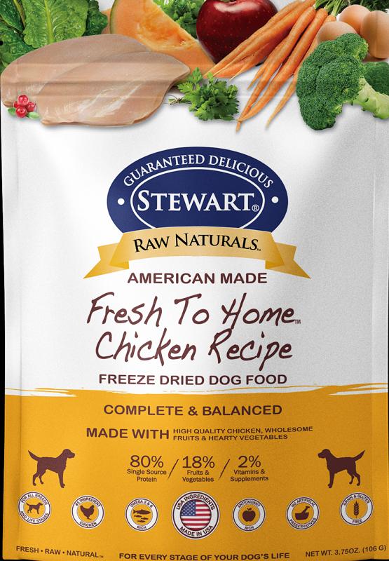 Stewart凍乾生肉全犬糧-雞肉 12 oz