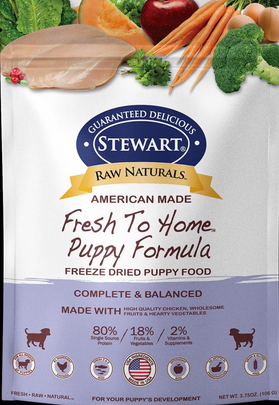 Stewart凍乾生肉幼犬糧-雞肉12 oz