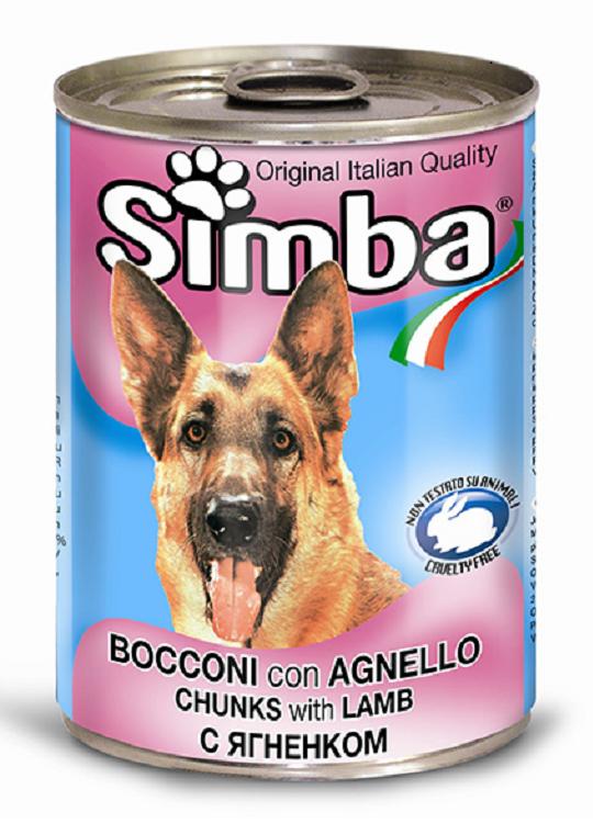 Simba Wet Dog food 天然狗罐頭羊肉01