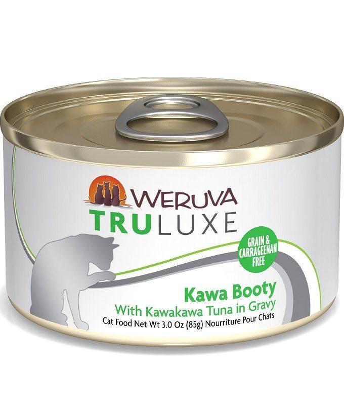 WERUVA Truluxe 尊貴系列無穀貓糧罐頭 - 白肉吞拿魚、馬鈴薯、蕃茄 (3oz)