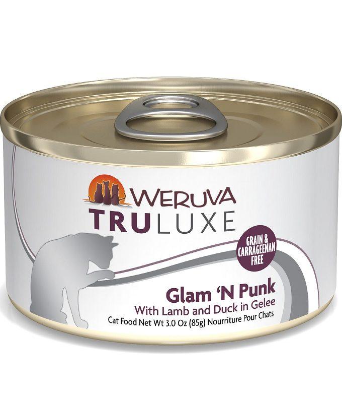 WERUVA Truluxe 尊貴系列無穀貓糧罐頭 - 羊肉、鴨 (3oz)
