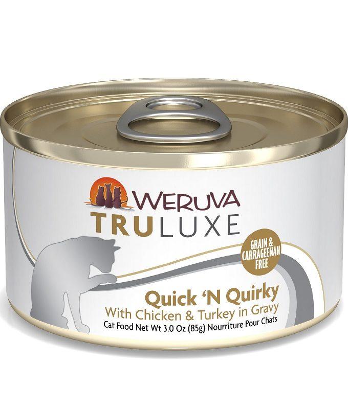 WERUVA Truluxe 尊貴系列無穀貓糧罐頭 - 走地雞、火雞、美味肉汁 (3oz)