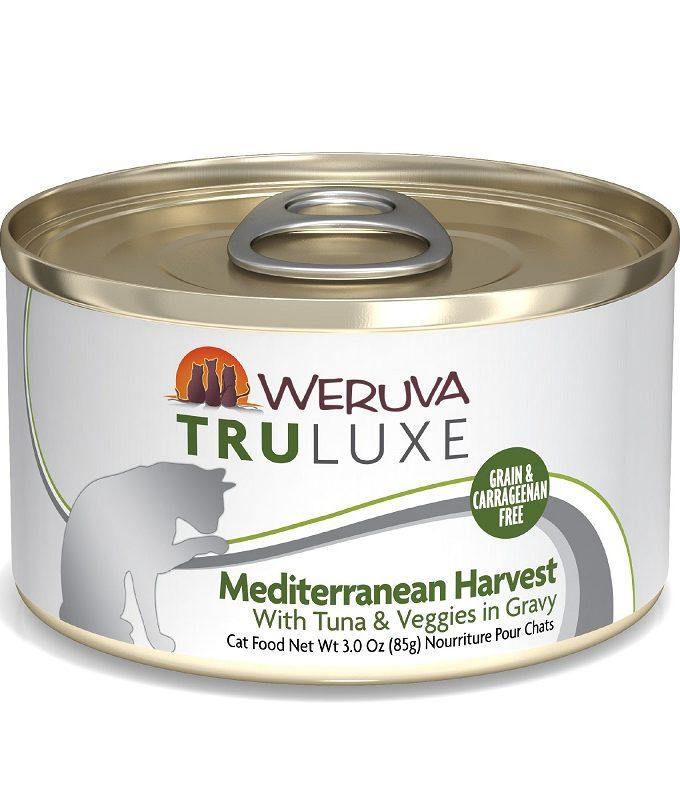WERUVA Truluxe 尊貴系列 無穀貓糧罐頭 - 白肉吞拿魚、豌豆、馬鈴薯、蕃茄