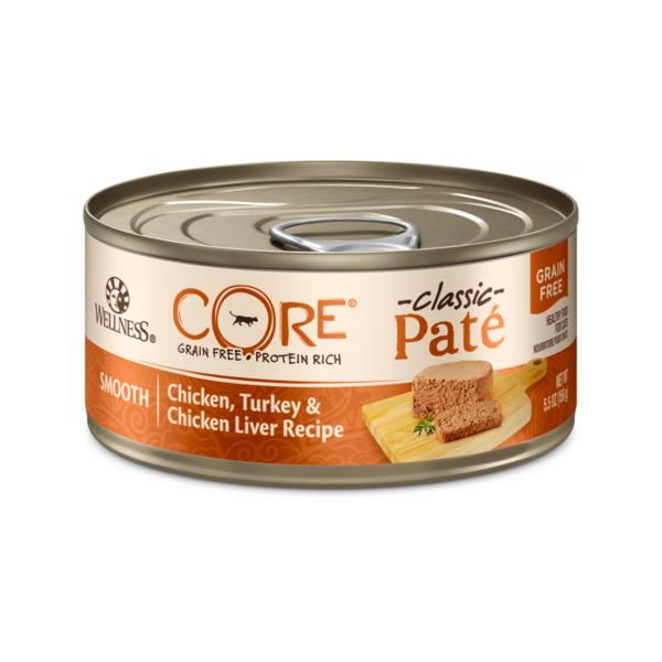 Wellness Core 無穀物雞肉火雞雞肝貓罐頭 5.5oz
