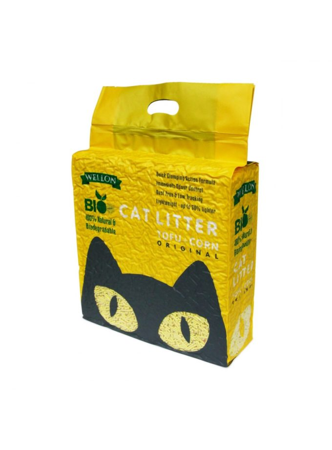 tofu cat litter