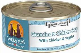 Weruva Grandma's Chicken Soup with Chicken & Veggies 5.5OZ