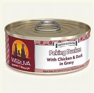 Weruva Peking Ducken with Chicken & Duck in Gravy 5.5OZ