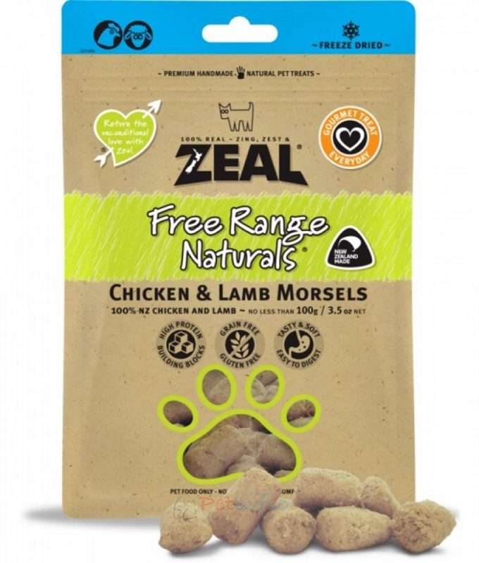 Zeal Chicken & Lamb Morsels