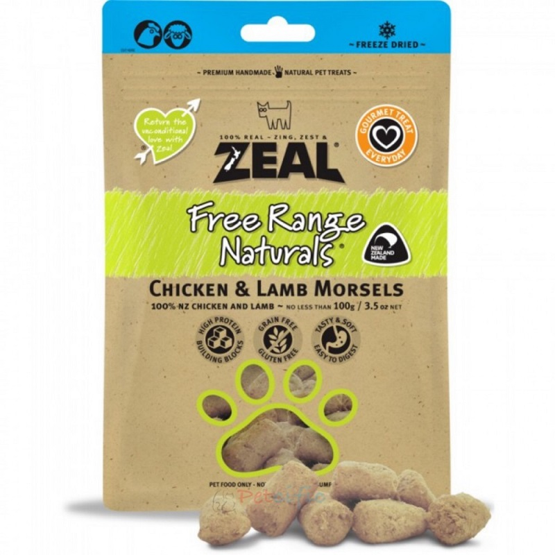 Zeal Chicken & Lamb Morsels