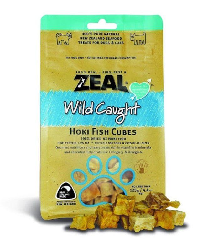 Zeal Hoki Fish Cubes