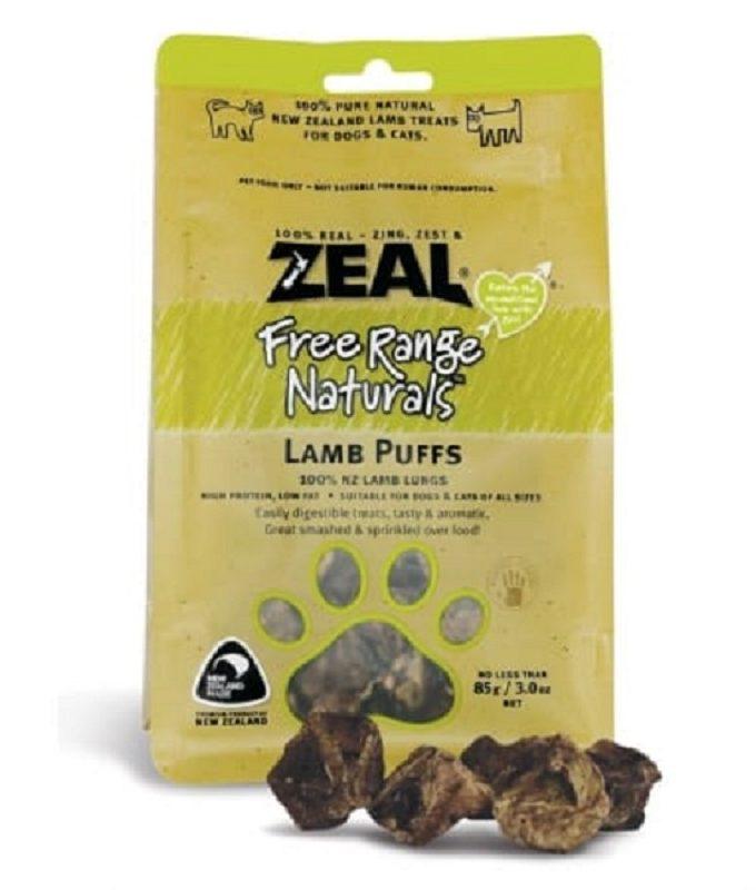 Zeal Lamb Puffs 羊肺粒 85g