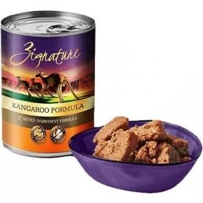Zignature 無穀物配方狗罐頭 (13 oz) | 袋鼠配方