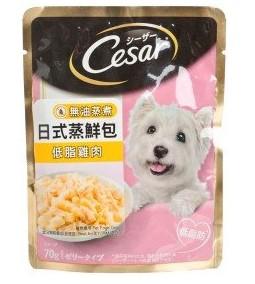 CESAR 西莎蒸鮮包 低脂雞肉 70克