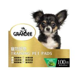 Grandee 寵物尿墊 (100片裝 45CM*30CM 1.5呎 綠茶味 )