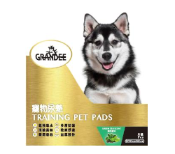 Grandee 寵物尿墊 (25片裝 90CM*60CM 3呎 綠茶)