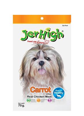 Jerhigh 07/70g 紅蘿蔔條 | Jerhigh Carrot Stick