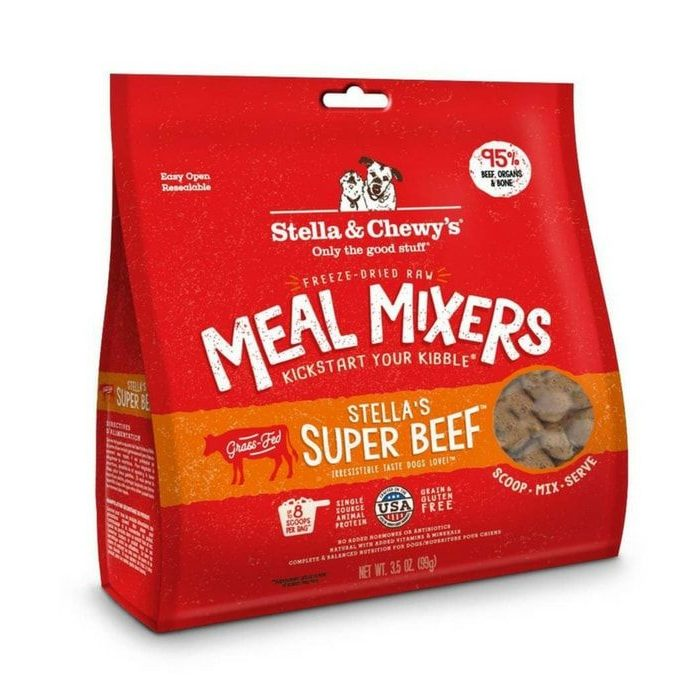 Stella&Chewy's Super Beef Meal Mixers
