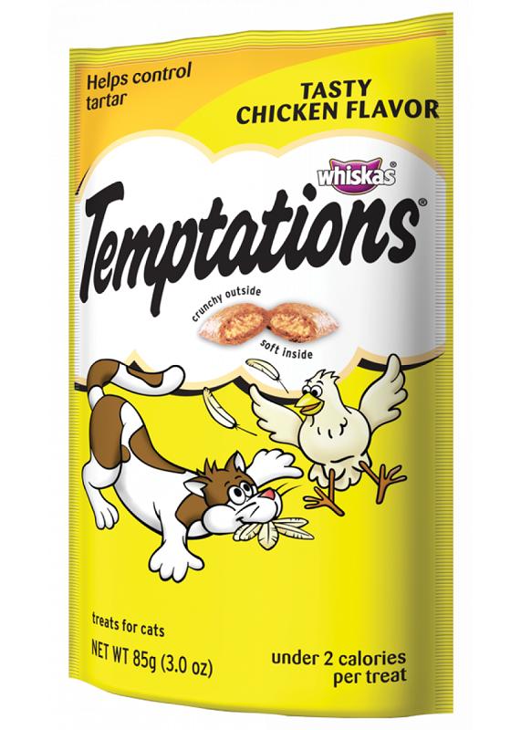 temptations chicken flavor