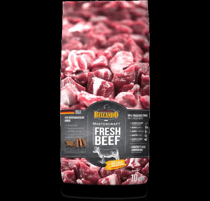 BELCANDO MASTERCRAFT 鮮肉狗糧 牛肉口味 10kg