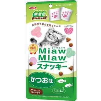 Aixia Miaw Miaw 曲奇餅小食鰹魚味 30G