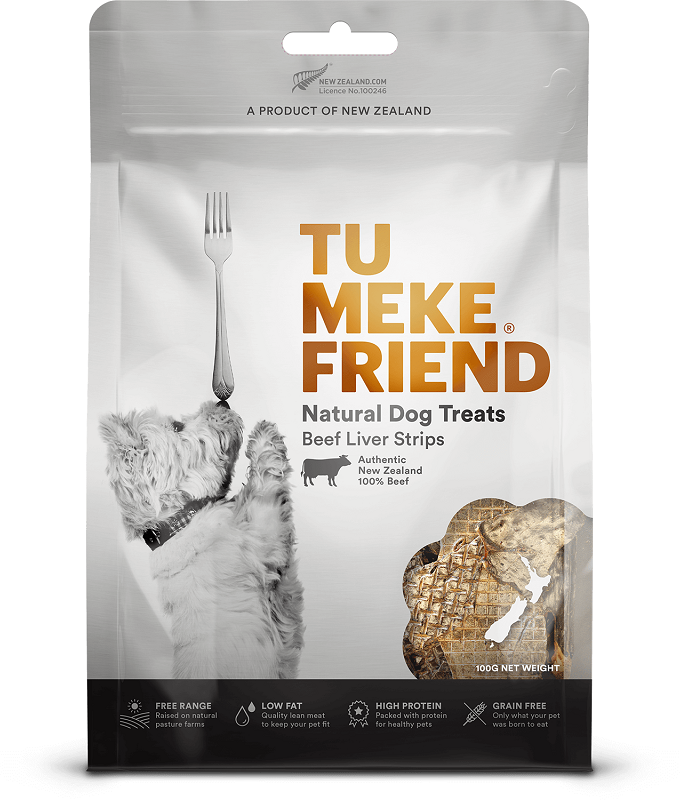Tu Meke Friend Beef Liver Strips
