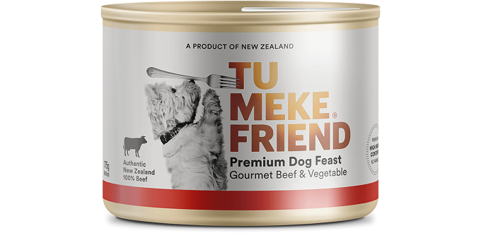 Tu Meke Friend 狗罐頭 Gourmet Beef & Vegetable 175g