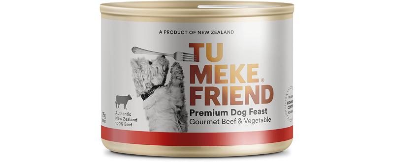 Tu Meke Friend 狗罐頭 Gourmet Beef & Vegetable 175g