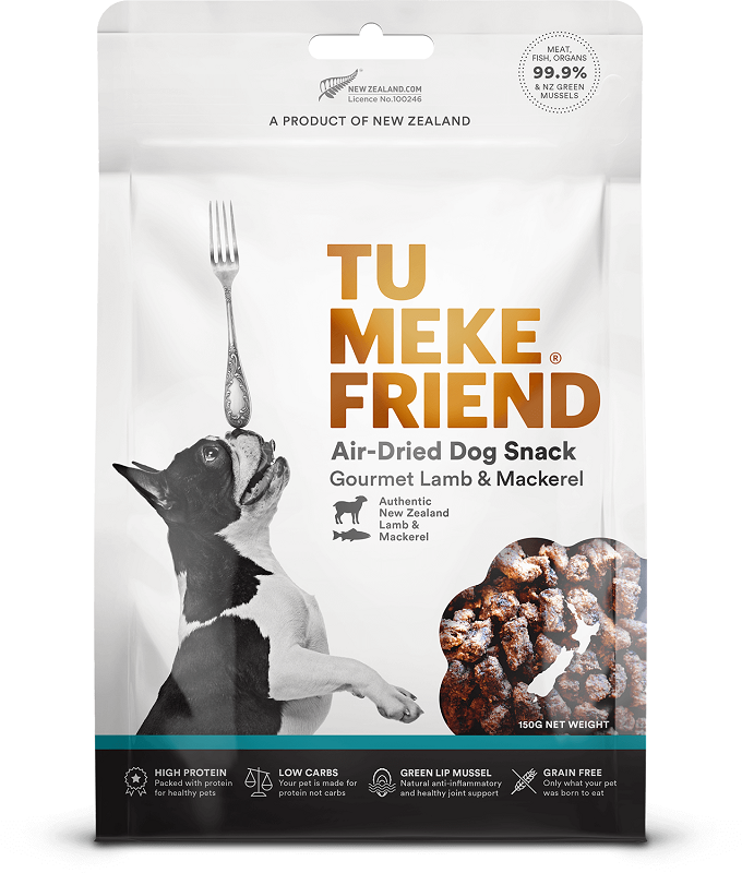 Tu Meke Friend Gourmet Lamb & Mackerel