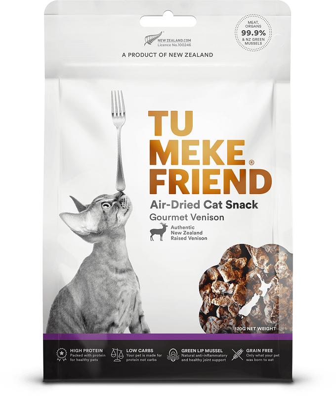 Tu Meke Friend Gourmet Venison 貓小食