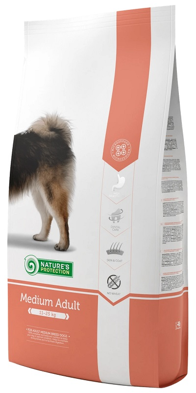 Nature's Protection Medium Adult - 成犬糧18KG